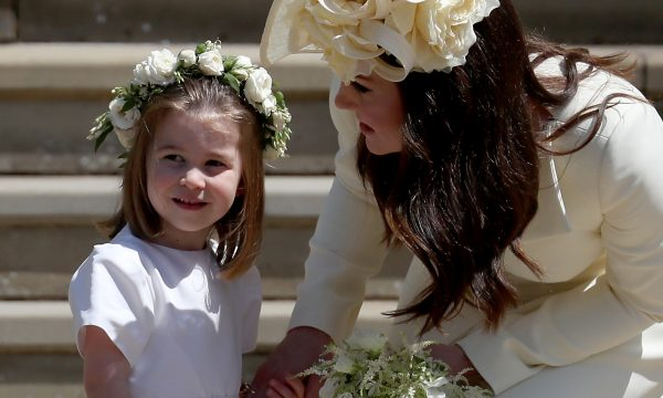 Líder nata! Princesa Charlotte organizou as outras crianças no casamento real