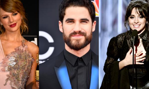 "BBMas 2018: Darren Criss brinca sobre ""bloqueio"" de Taylor Swift e Camila Cabello; assista!"