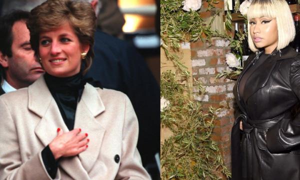 """Princesa Diana é homenageada por Nicki Minaj em novo álbum: """"Deus abençoe o legado"""""""