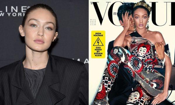 Gigi Hadid pede desculpas após ser acusada de usar 'blackface' na capa da Vogue italiana