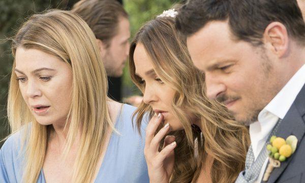 """""""Grey's Anatomy"""": Jo e Alex têm contratempo no casamento em cena do último episódio"""