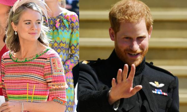 """Ex-namorada de Harry confessa preocupação na hora do casamento: """"Olhares de reprovação"""""""