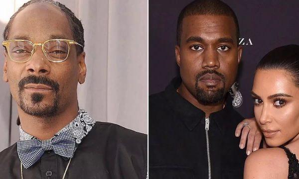Snoop Dogg dá indireta que Kim Kardashian é responsável por colapso de Kanye West