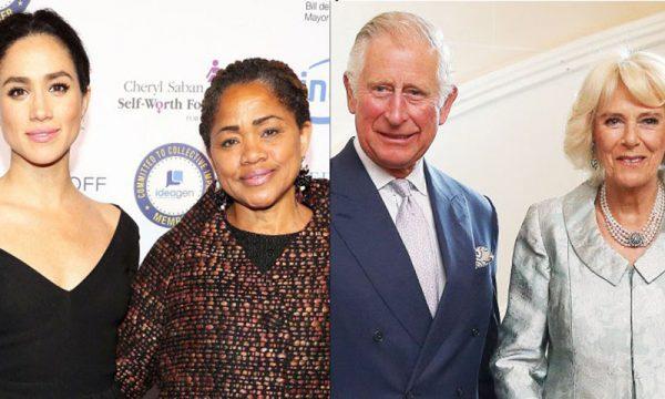 Casamento real: Mãe de Meghan Markle conhece Príncipe Charles e Camilla