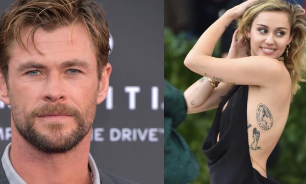 Chris Hemsworth se inspira em Miley Cyrus para vídeo hilário e cantora responde; assista!
