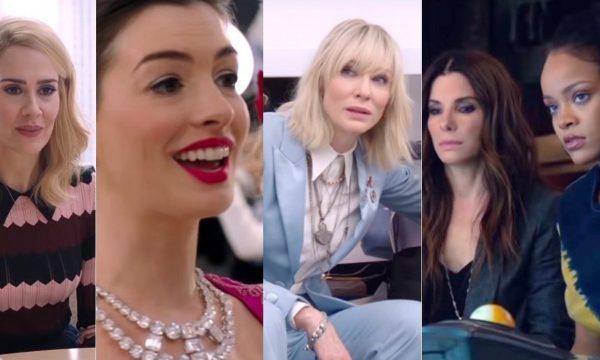 """""""Oito Mulheres e Um Segredo"""": Novo trailer apresenta elenco feminino com Sandra Bullock, Rihanna e mais estrelas"""