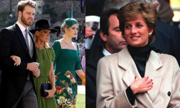 Sobrinho solteiro de Diana atrai olhares em casamento, destaca revista People