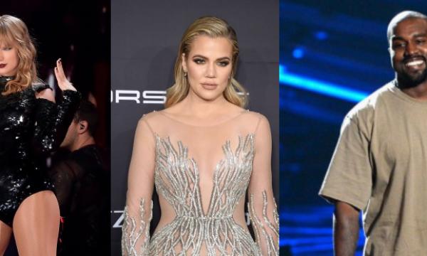 Fãs especulam indireta de Khloé para Kanye com música de Taylor Swift