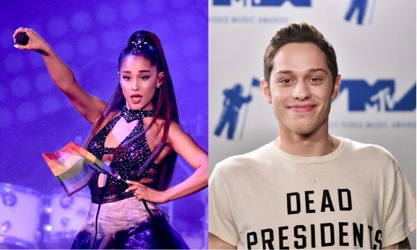 """Pete Davidson comenta noivado e brinca sobre """"sorte"""" em namoro com Ariana; assista!"""