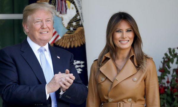 Donald Trump rebate críticas à jaqueta da primeira dama com mensagem polêmica