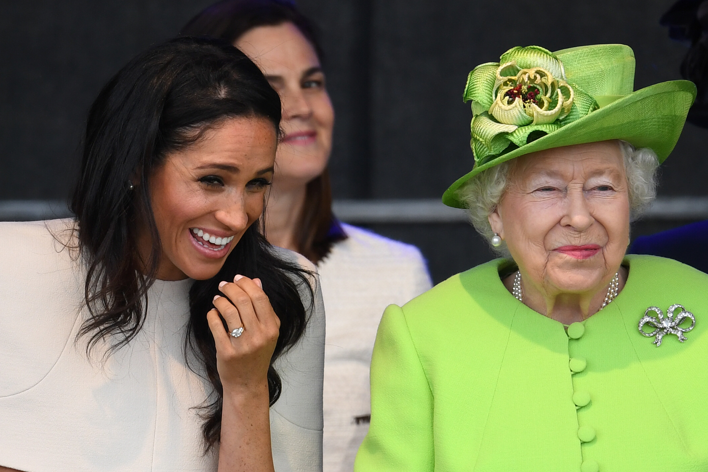 the-duchess-of-sussex-undertakes-her-first-official-engagement-with-queen-elizabeth-ii