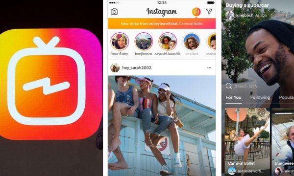 """""""IGTV"""": Instagram anuncia ferramenta para publicar vídeos de até uma hora"""