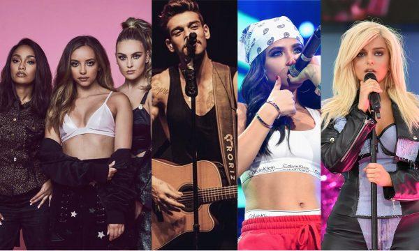 Lançamentos de Sexta: Parceria mara do Little Mix; nova versão do hit 'Mayores' com Becky G e Lucas Lucco; disco de estreia de Bebe Rexha e mais são destaques