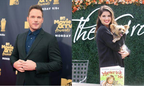 Chris Pratt é flagrado em piquenique romântico com Katherine Schwarzenegger