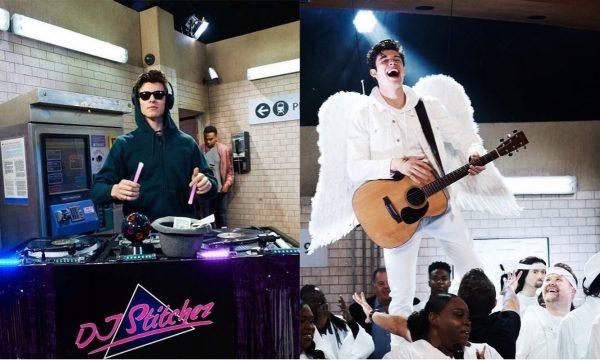 Em esquete HILÁRIA, Shawn Mendes ataca de DJ e se transforma em anjo para versão gospel de sucesso