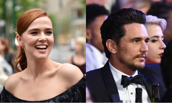 Vídeo: Zoey Deutch critica beijo de James Franco e revela 'detalhe' desagradável