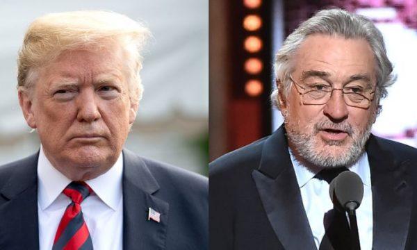 Donald Trump responde crítica de De Niro em premiação: 'Abestalhado, tonto!'