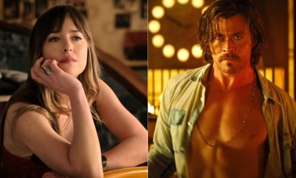"Dakota Johnson e Chris Hemsworth estrelam primeiro trailer do suspense ""Maus Momentos no Hotel Royale"""