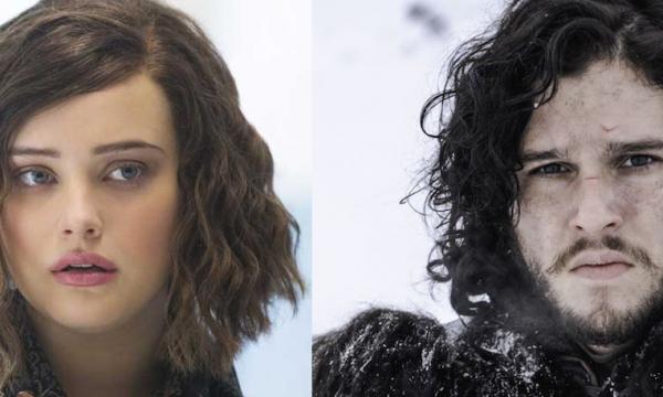 Hannah Baker ou Jon Snow? Katherine Langford se diverte com comparação; assista!