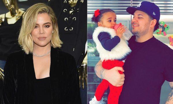 """Khloé Kardashian faz homenagem ao irmão Rob, em clima de Dia dos Pais: """"Muito orgulhosa"""""""