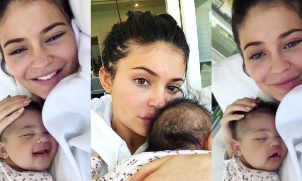 Após polêmica, Kylie Jenner deleta todas as fotos da filha e responde questionamento de seguidora