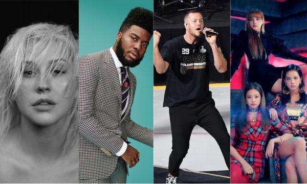 'Lançamentos de Sexta': Novo álbum de Christina Aguilera; parcerias de 'Imagine Dragons' e Khalid; clipe BAPHO do 'BlackPink' e mais são destaques