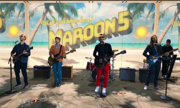 Maroon 5 faz cover fofo de 'Three Little Birds', de Bob Marley; vem ver o clipe!