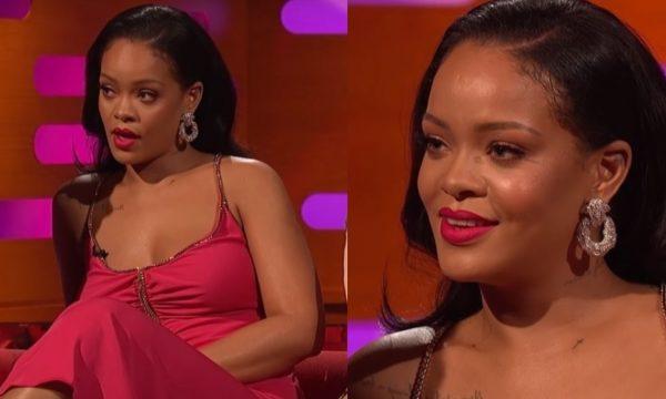 """Criminosa?! Rihanna tem a melhor reação ao ver fotos dela """"roubando"""" copos em eventos"""