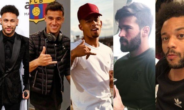 Copa 2018: Confira lista com os perfis dos jogadores da seleção brasileira no Instagram