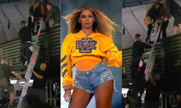 'On The Run II': Plataforma de show dá problema e Beyoncé é aplaudida após reação!