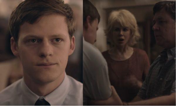 De chorar! Lucas Hedge sofre após contar que é gay para os pais conservadores no trailer de 'Boy Erased'; vem assistir