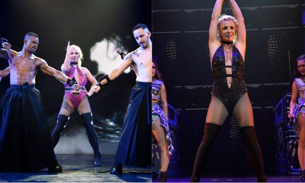 Britney Spears retorna aos palcos com dois hinos nunca antes performados por ela; vem ver!