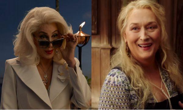 Cher e Meryl Streep cantam juntas em trilha de 'Mamma Mia! Here We Go Again'