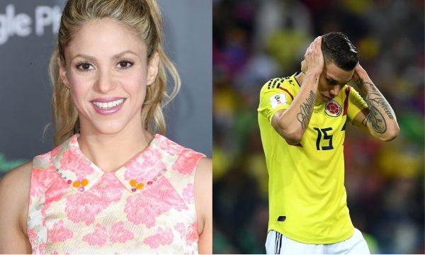 Após torcida, Shakira lamenta resultado da Colômbia na Copa: 'Merecíamos ganhar'