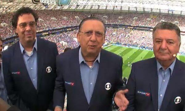 """Casagrande chora ao vivo ao comemorar """"primeira Copa sóbrio""""; veja vídeo"""