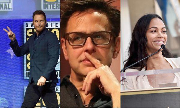 'Guardiões da Galáxia': Chris Pratt e Zoe Saldana quebram silêncio após demissão de James Gunn e polêmica com pedofilia