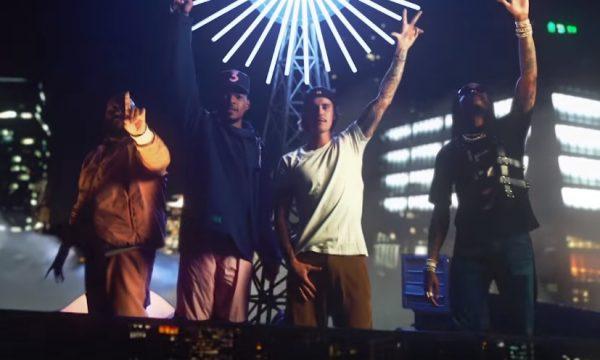 Justin Bieber arrasa nas dancinhas no clipe de 'No Brainer', parceria com Dj Khaled, Chance the Rapper e Quavo!
