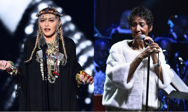 Madonna rebate críticas ao discurso sobre Aretha Franklin no 'VMA 2018'
