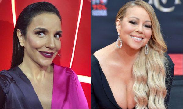 """Ivete Sangalo conquista """"follow"""" de Mariah Carey após diversos comentários divertidos no Instagram da diva; confira!"""