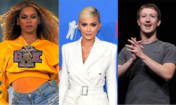Beyoncé; Kylie Jenner e Mark Zuckerberg… descubra quanto os famosos ganham por hora!