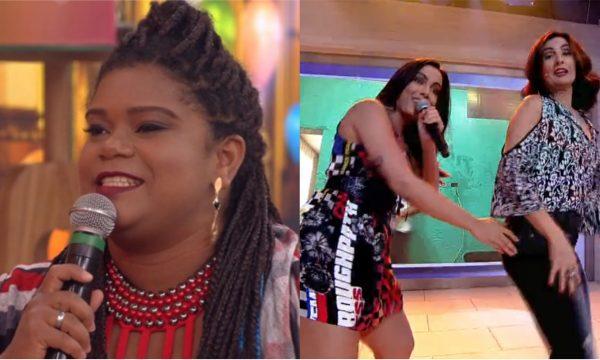 Rainha da Narração comenta 'ao vivo' dança de Fátima Bernardes com Anitta!