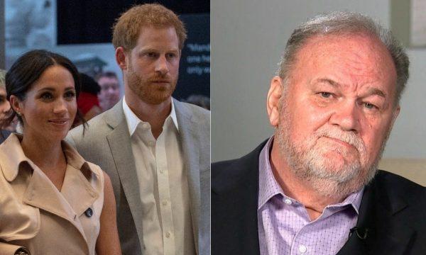 Pai de Meghan Markle revela que mentiu para príncipe Harry sobre escândalo de fotos falsas