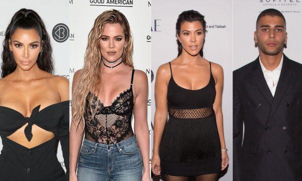 Kim e Khloé Kardashian trocam farpas com ex de Kourtney após notícias de término