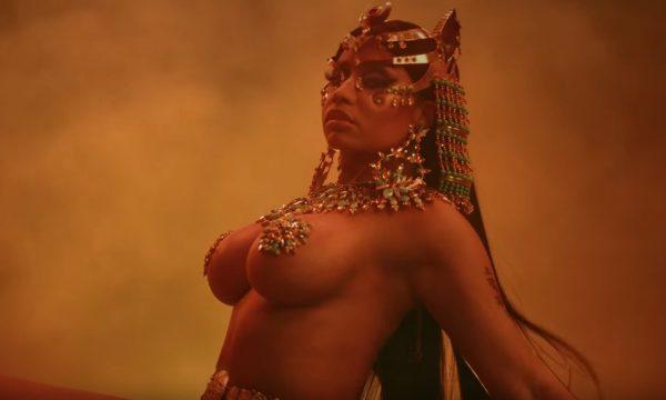 FOI A GENTE QUE PEDIU: Nicki Minaj lança clipe BAPHO para o HINO 'Ganja Burn'! Vem ver