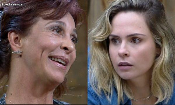 "A Fazenda 10: Eliminada, Vida Vlatt chama Ana Paula de ""mal comida"" e namorado da loira responde!"