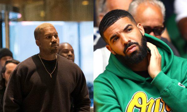 """Após Kim Kardashian negar ser a """"Kiki"""", Kanye West se desculpa e manda mensagem fofa para Drake"""
