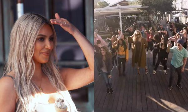 """""""KUWTK"""": Khloé e Kourtney surpreendem Kim com 'flash mob' em shopping: """"Que mer** é essa?"""""""