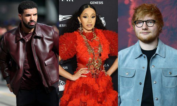 """Saiu a lista completa dos indicados ao """"American Music Awards 2018""""! Drake; Cardi B e Ed Sheeran são líderes em indicações; confira!"""