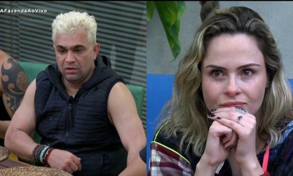 """A Fazenda 10: Foi Feio! Record exibe barraco de Ana Paula e Evandro Santo: """"Desequilibrada!""""; vem ver!"""