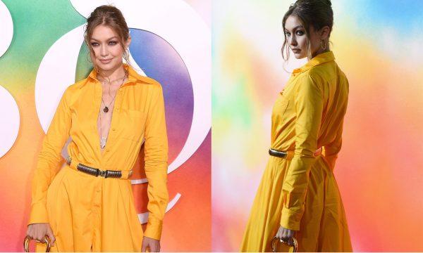 Que look! Gigi Hadid chama a atenção em festa com objeto em bolsa transparente